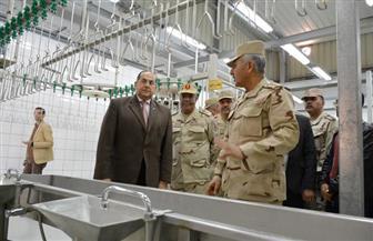 محافظ سوهاج يشيد بدور القوات المسلحة فى تحقيق التنمية