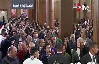 """البابا تواضروس يصل مقر كنيسة """"ميلاد المسيح"""" لحضور قداس عيد الميلاد الجديد"""