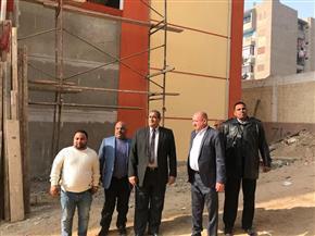 """نائب محافظ القاهرة يتفقد مبنى جديدا بمدرسة """"أحمد عرابى"""" في منشأة ناصر"""