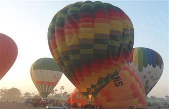 إقلاع 18 رحلة بالون طائر بالأقصر على متنها 365 سائحا مصريا وأجنبيا