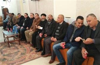 """وفد """"كلنا معاك من أجل مصر"""" بالحامول يقدمون التهنئة بعيد الميلاد في كنيسة مار جرجس"""