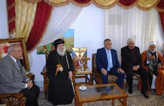 قيادات شمال سيناء يهنئون أبناء المحافظة بعيد الميلاد المجيد