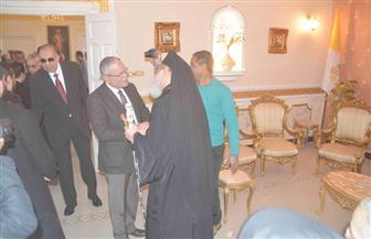 محافظ المنيا يقدم التهنئة بعيد الميلاد المجيد للطوائف المسيحية بالمحافظة
