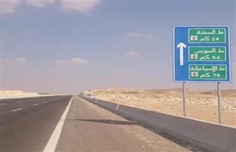 """""""المرور"""": إغلاق طريق """"القطامية"""" جزئيا لإنشاء كوبرى تقاطع محور محمد نجيب"""