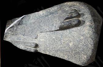 العثور على جزء من تمثال أثري في موقف سيارات أخميم بسوهاج | صور