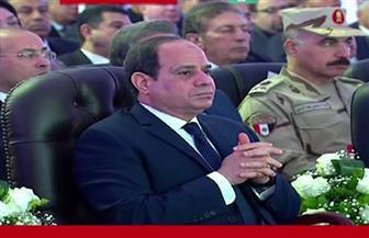 """الرئيس السيسي يشهد افتتاح """"الإسكان الاجتماعي"""" بالعاشر من رمضان.. ويوجه بالانتهاء من جميع المرافق قبل التسكين"""