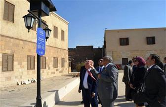وزير الثقافة يناقش مشروع تطوير المنطقة المحيطة بمتحف نجيب محفوظ