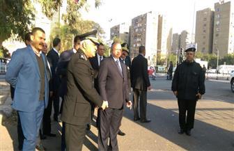مدير أمن القاهرة يتفقد محيط استاد القاهرة قبيل قمة الأهلي والزمالك | صور
