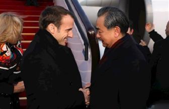 ماكرون يهدي نظيره الصيني حصانا من الحرس الجمهوري الفرنسي