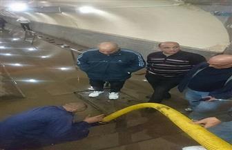 محافظ الغربية يشكل لجنة فنية لتحديد أسباب تسرب المياه في نفق الشون