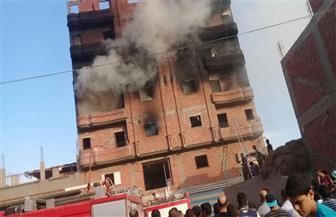 """ماس كهربائي في """"ثلاجة"""" يتسبب في حريق شقة بالمنصورة"""