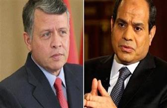 الرئيس السيسي يتلقى اتصالا هاتفيا من العاهل الأردني لبحث تعزيز العلاقات الثنائية