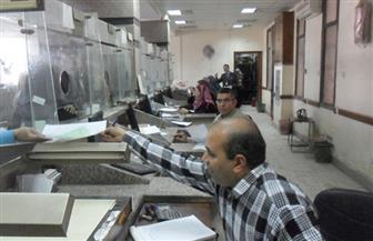 عاملون ومدرسون بالفيوم يتوافدون على الشهر العقاري لتحرير توكيلات لمرشحي الرئاسة