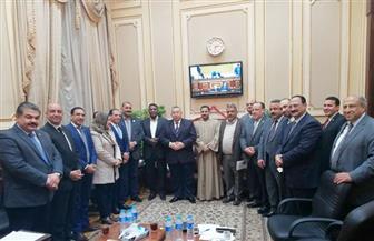 الهيئة البرلمانية لحزب مستقبل وطن تستقبل نقيب الأشراف | صور