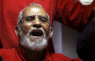 """اليوم.. نظر إعادة محاكمة محمد بديع في """"أحداث مسجد الاستقامة"""""""