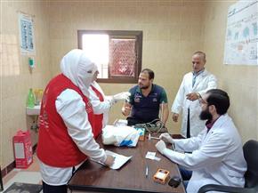 """فحص 5070 مواطنا في اليوم الـ19 لحملة """"100 مليون صحة"""" بشمال سيناء"""