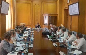 رئيس هيئة السكة الحديد يعقد اجتماعا لمتابعة أعمال تحديث نظم الإشارات |صور