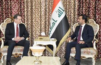 """""""الحلبوسي"""" يبحث مع المبعوث الأمريكي تطورات المشهد العراقي"""