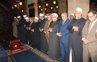 تشييع جنازة الدكتور طه أبو كريشة من الجامع الأزهر