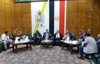 عبدالمحسن سلامة يزور أسيوط ويلقي محاضرة بالجامعة بمناسبة نصر أكتوبر| صور