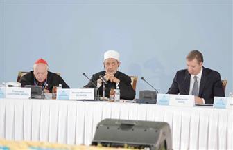 الإمام الأكبر من كازاخستان: المواثيق العالمية تصبح حبرا على ورق حين يتعلق الأمر بالبلاد النامية  صور