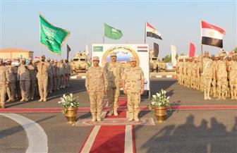 """انطلاق فعاليات التدريب المشترك """"تبوك – 4"""" بمشاركة قوات من مصر والسعودية"""