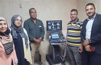 """تبرعات الأهالي تضيف جهاز """"إيكو"""" للخدمة بمستشفى سمنود بتكلفة 320 ألف جنيه  صور"""