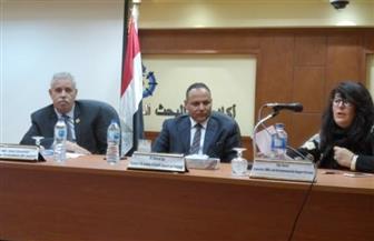 محمود صقر: قانون حوافز العلوم والتكنولوجيا والابتكار مهد الطريق للتسويق في مصر| صور