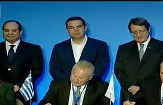 مصر واليونان وقبرص يوقعون حزمة اتفاقيات للتعاون المشترك
