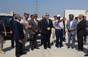 محافظ بني سويف يشرف على حملة إزالة تعديات على أملاك الدولة | صور