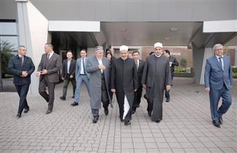 الإمام الأكبر يصل أوزبكستان في زيارة تستمر 4 أيام | صور