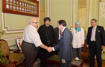 رئيس جامعة عين شمس: نخطط لإنشاء متحف خاص يحوي المخطوطات والبرديات والعملات والكنوز الأثرية   صور