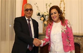 نهال عنبر تنضم إلى لجنة الثقافة والفنون بحزب الوفد