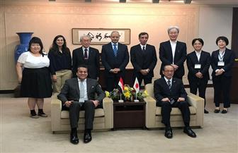 وزير التعليم العالي يلتقي عمدة مدينة هيروشيما| صور
