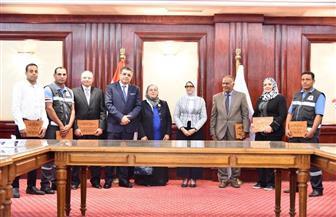 وزيرة الصحة تشيد بإقبال المواطنين والوصول للنسب المستهدفة من مبادرة الرئيس | صور