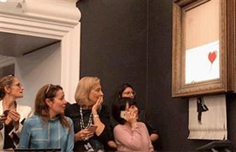 """بيع لوحة """"بانكسي"""" مقابل مليون دولار رغم تعرض جزء منها للتلف"""