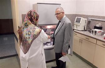 زيارة مفاجئة للدكتور طارق سلمان لمستشفى جامعة الأزهر التخصصي |صور