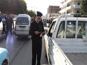 تحرير 676 مخالفة مرورية على الطرق بسوهاج