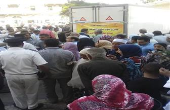 وزير الأوقاف يوزع 3 آلاف كيلو لحوم أضاحي بالمرسي أبو العباس