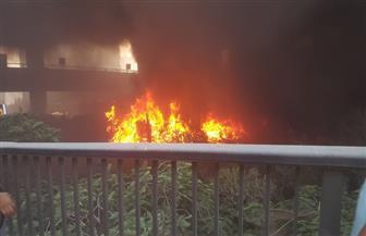 حريق يلتهم بعض ملفات وأثاث مبنى هندسة ري القوصية في أسيوط