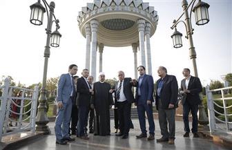 الإمام الأكبر ينيب المحرصاوي لزيارة متحف شهداء الاستقلال في أوزبكستان |صور