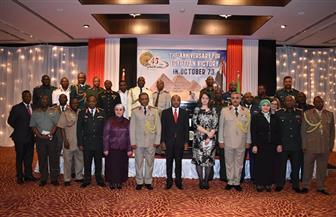 وزير الدفاع التنزاني يشارك مكتب الدفاع الاحتفال بذكرى نصر أكتوبر | صور