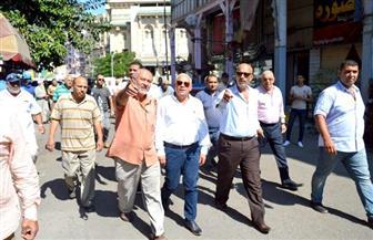 محافظ بورسعيد: استمرار حملة فتح محاور المرور بقلب المدينة | صور