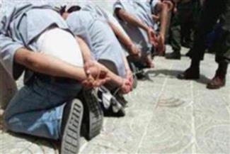 سقوط 9 عاطلين وربة منزل بحوزتهم أسلحة نارية ومخدرات بالإسماعيلية