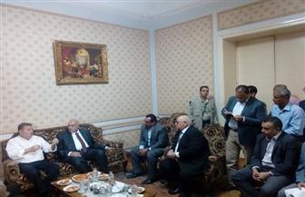 وزير قطاع الأعمال يتفقد سير العمل بشركة غزل المحلة.. ويجتمع برؤساء القطاعات | صور