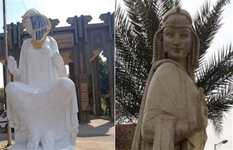 """""""الفنون التشكيلية"""" لـ""""المحليات"""": """"كفوا عن تشويه تماثيل الميادين وطبقوا قرار رئيس الوزراء"""""""