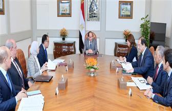 الرئيس السيسي يستعرض جهود الحكومة في تطوير منظومة الرعاية الصحية