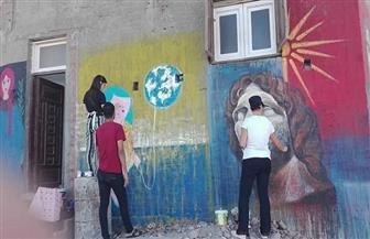 محافظ كفرالشيخ يشهد غدا ختام ملتقى البرلس الدولي الخامس للرسم على الجدران والمراكب  صور