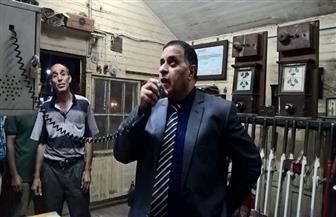رئيس هيئة السكة الحديد يتفقد منطقة وسط الدلتا ويحيل مسئولين للتحقيق | صور