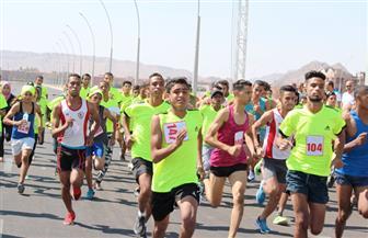 بمشاركة 300 طالب وطالبة.. انطلاق سباق الجري بجامعة طنطا